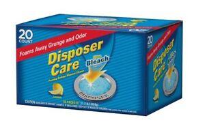 Glisten-DP20B-Disposer-Care-Foaming-Garbage-Disposer-Cleaner-Twenty-Pack-20