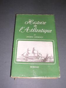 Marine-Marine-a-voile-J-Godechot-Histoire-de-l-039-Atlantique-ill-de-gravures-1947