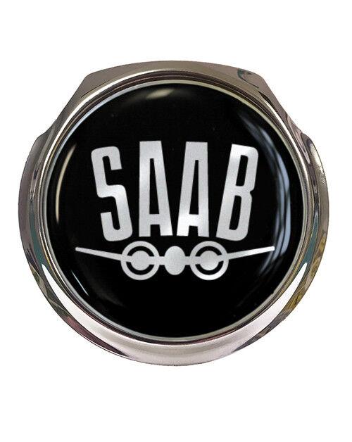 Saab Wing Profile Design Car Grille Badge Fixings Ebay