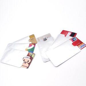 bello economico scarpe a buon mercato autorizzazione Dettagli su 5 Custodia RFID Anti-clone Anti Smagnetizzazione Porta Carta di  Credito