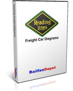 Details about Reading Railroad Freight Car Diagrams - PDF on CD -  RailfanDepot