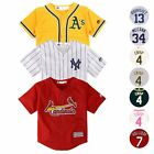 MLB Majestic Cool Base Home Away Alt Player Jersey Collection Toddler SZ (2T-4T)
