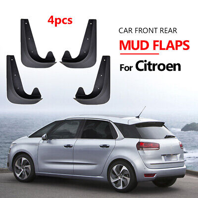 Top Quality Universal Citroen C3 Picasso Car Rubber Moulded MUDFLAPS Full set