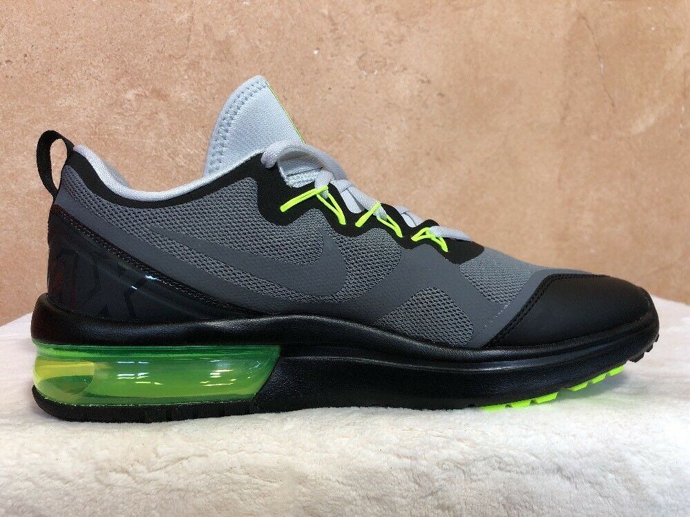 NIKE AIR MAX FURY MEN'S RUNNING SHOES SIZE: 10.5 COOL GREY VOLT AA5739 007