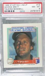 1988 Starting Lineup Talking Baseball All-Stars George Brett (Third Base) PSA 8