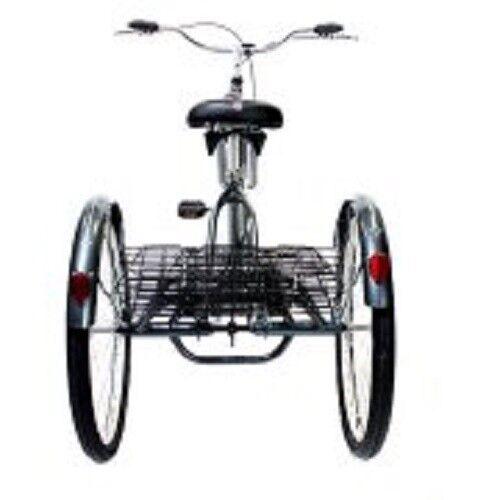 Adult Tricycle Bike Schwinn Meridian 3 Wheel Trike Comfort Folding Basket colors
