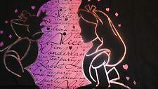 4xl Alice In Wonderland Disney V-Neck Tee Shirt NIP