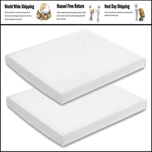 2 PACK FOR HONDA Accord Civic CRV Oddessy CABIN AIR FILTER ACURA TL MDX RDX ILX