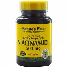 Niacinamide, 500 mg, 90 Tablets - Nature's Plus
