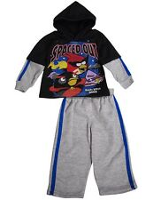 Angry Birds Toddler Boys Long Sleeve Fall Winter 2 PC Jog Sweatsuit Outfit Set