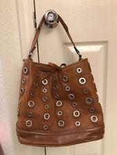 69244bd187 item 5 Zara Woman Brown Leather Studded Women's Bucket Shoulder Hand Bag - Zara Woman Brown Leather Studded Women's Bucket Shoulder Hand Bag