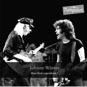 JOHNNY WINTER - ROCKPALAST BLUES ROCK LEGENDS VOL.3 2 CD NEUF