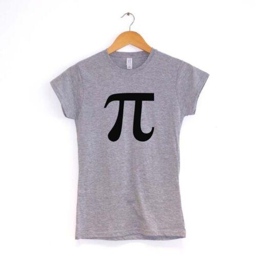 Pi WOMENS T SHIRTMANY COLOURSsymbol maths mathmatical science film