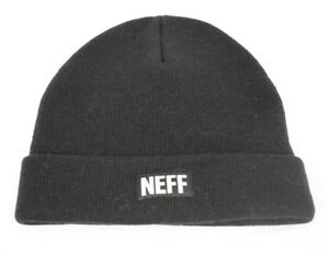 FleißIg Unisex Herren Neff Täglich Schwarz Winter Mütze Haube Neu Seien Sie In Geldangelegenheiten Schlau Hüte & Mützen Herren-accessoires