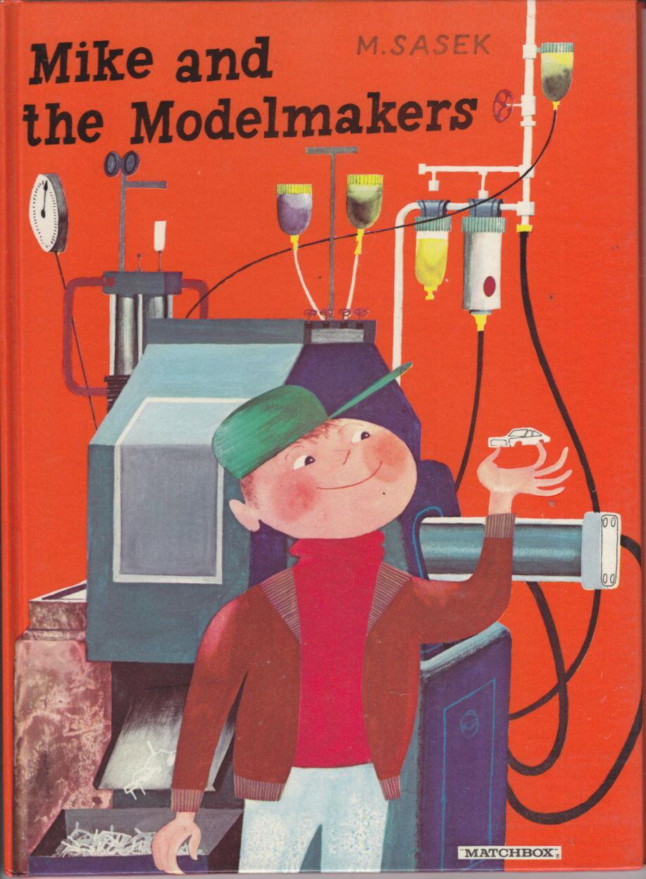 Matchbox  Mike and the modelmakers  libro para niños 1969 como nuevo