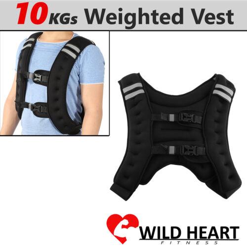 2//5kg Fußgelenkgewichte Gewichtsmanschette+10kg Gewichtsweste Trainingswest AL-6