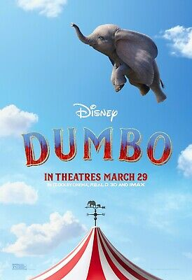 TEASER MOVIE POSTER DISNEY 17538 22x34 DUMBO