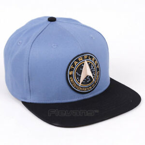 fe5fb77510 Star Trek Baseball Cap Hat Mens Boys 100% Cotton Starfleet Command ...