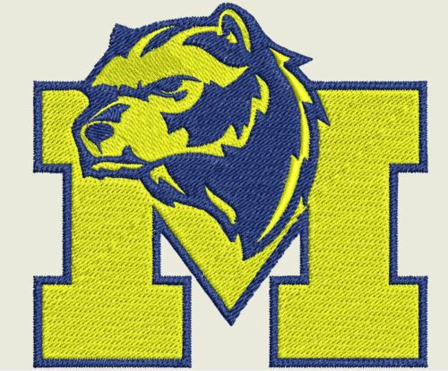 15 University of Michigan Machine Embroidery Team Logos 11 Formats - CD//USB