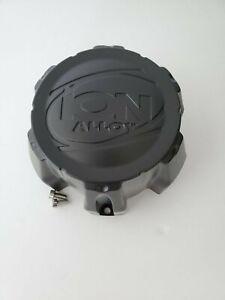 Ion Alloy 6 Lug C101711MB C202202 Matte Black Wheel Center Cap