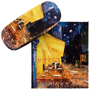 Brillenetui Hardcase Box Kunst Motiv Vincent van Gogh: Nachtcafé 7504