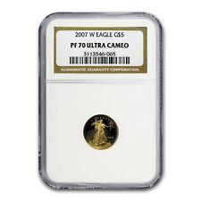 2007-W 1/10 oz Proof Gold American Eagle Coin - PF-70 NGC - SKU #59894