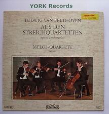 954-09 SB - BEETHOVEN - String Quartets - MELOS QUARTET - Ex Con LP Record