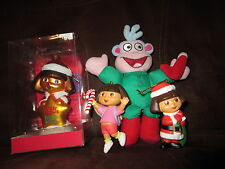 Dora The Explorer BOOTS Monkey Decoration Xmas Tree Ornament Home