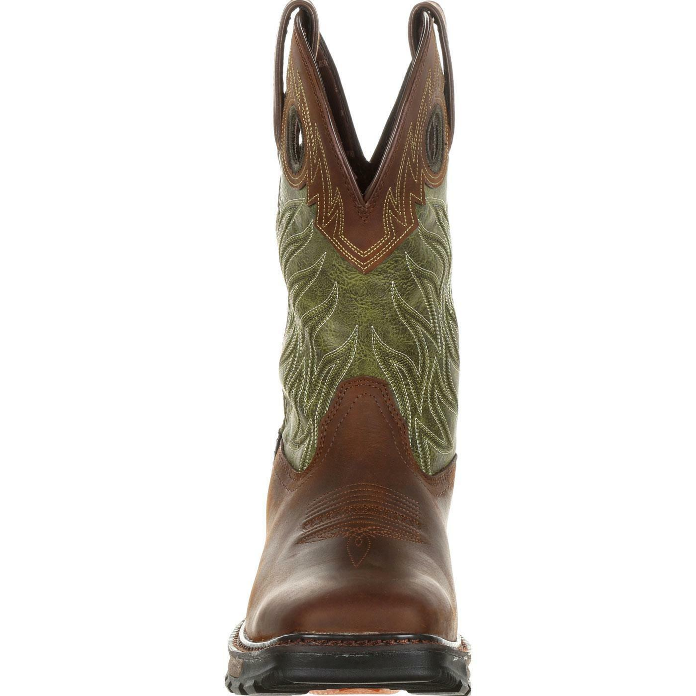 DURANGO MAVERICK XP WATERPROOF PULL-ON WESTERN WORK * BOOTS DDB0177 * WORK ALL SIZES 0d520b