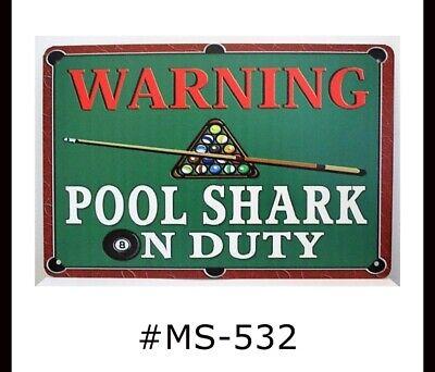 Tin Sign Nursery Shark