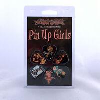 Set 6 Hot Picks Guitar Picks Pin Up Girls Beautiful Women 1ltpugrcs01