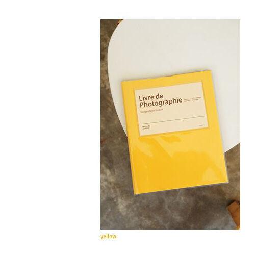 Fondo Negro Álbum de fotos (amarillo), 8.15 X 10.08 Pulgadas, número de seguimiento