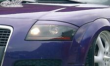 RDX Scheinwerferblenden AUDI TT 8N Coupe Roadster Böser Blick Blenden Spoiler