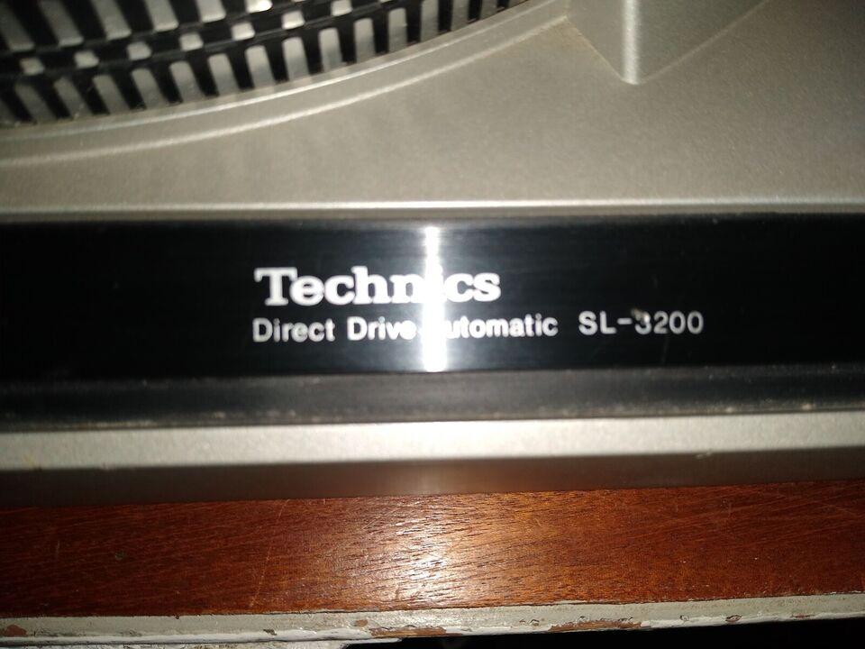 Pladespiller, Technics, SL-3200