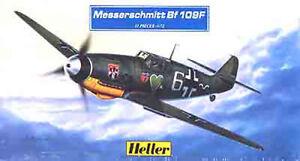 Maqueta-del-caza-aleman-Messerschmitt-Bf-109F-del-JG-54-de-HELLER-a-1-72