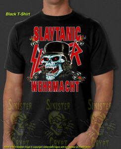 16fa32baa Slayer Slaytanic Wehrmacht Metal Band Retro New T-Shirt S-6XL | eBay