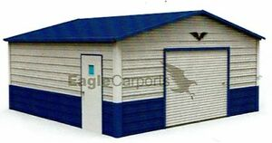 Details about Garage, 20X21 ALL STEEL metal carport INSTALLED Price! FREE  DELIVERY!