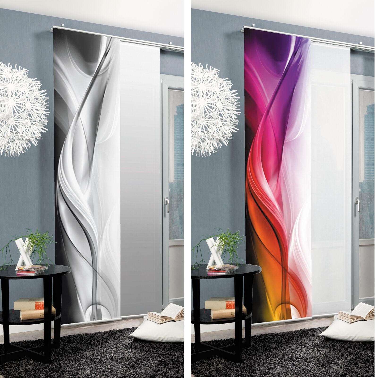 Cool Halifax Schiebevorhang Schiebegardine Raumteiler digital Home  DK05