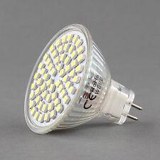 Standard MR16 GU5.3 60 LED 3528 SMD Day White 6W 12V Light 400Lm 6500K