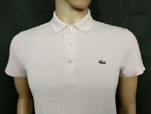 Uk Lacoste Pale Size 3 Devanlay Mens Shirt Pink 38 S Polo Chest rn8rFxq