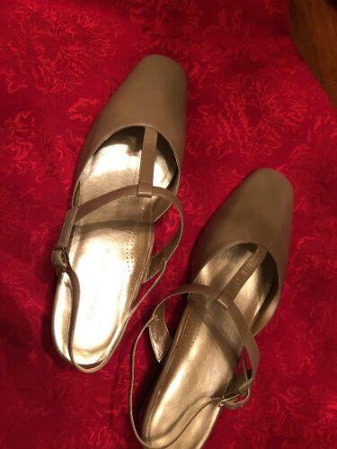 Leather David Back New Tate Shoes Sling Box D Wide Talpa L1 11 In Misty Women Faq18