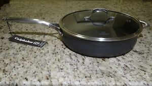 Calphalon-Unison-SEAR-Nonstick-6-Qt-Saute-Pan-With-Cover-Discontinued-New