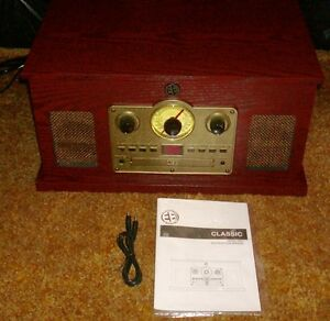 5-in-1-Vintage-Audio-System-Brand-New-In-Box