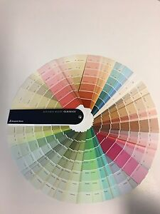 Image Is Loading Benjamin Moore Clic Color Fan Deck Thousands Of