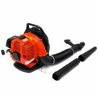 31cc Gas Powered 2 Cycle Garden Lawn Leaf Back Pack Blower Backpack Harness Sys