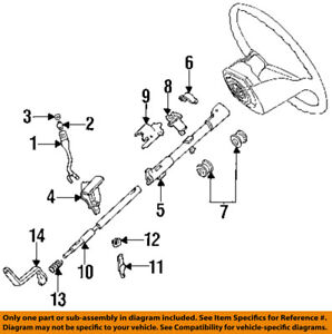 image is loading ford-oem-92-97-f-250-steering-column-