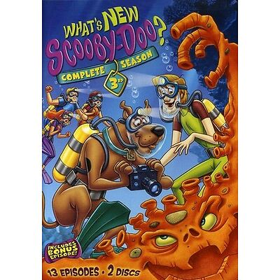 What's New, Scooby-Doo?: The Complete Third Season [2 Discs] [DVD NEW]