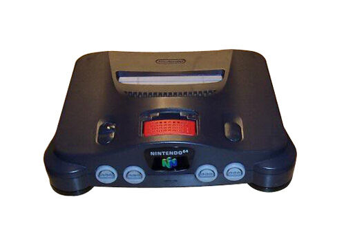 Nintendo 64 Launch Edition Charcoal Grey Console PAL  - $80.00