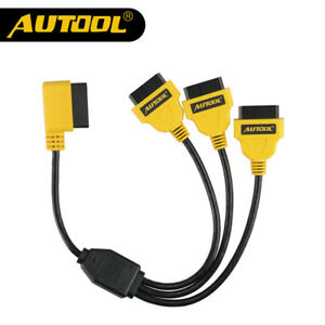 AUTOOL-OBD2-Split-Cable-1-to-3-Converter-Adapter-50cm-OBD2-Splitter-Y-Cable