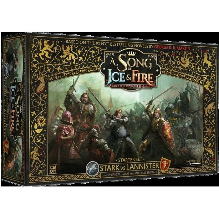A Song of Ice & Fire Stark vs Lannister Starter Set - Cool Mini or Not - New